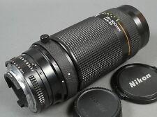 Nikon AF-NIKKOR 4,5-5,6/75-300 + 2 Deck., s. g. Zustand!