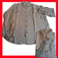 Angelsport M Shimano Langarm Hemd Solid Shirt Navy Blau Frauenhemd Anglerhemd Gr