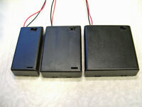 2 x AA Battery Box Holder with Switch Hobby Model Toy