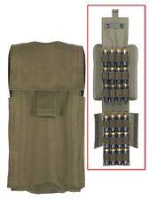Rothco 40226 M.O.L.L.E. Shotgun/Airsoft Ammo Pouch - Olive Drab(O.D.)