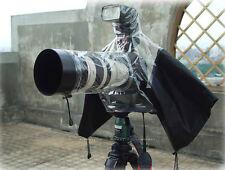 Rain cover Camera Protector for Canon Nikon Sony Olympus Panasonic DSLR Camera