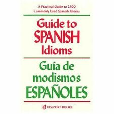 Guide to Spanish Idioms-ExLibrary