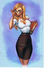 Grimm Fairy Tales: The Call Of Wonderland 1 Bluerainbow Excl Nm J Scott Campbell