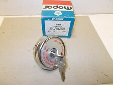 Mopar NOS Fuel Tank Locking Cap 72-76 Barracuda,Satellite,Coronet/Charger etc.