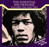The Essential Jimi Hendrix Vols. 1 & 2 by Jimi Hendrix (CD, 1989, 2 Discs, Repri