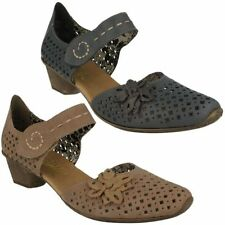 Mary Janes Block Casual Heels for Women