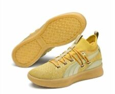 Puma Clyde Court Title Run Metallic Gold  New with box