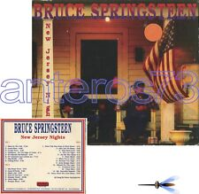 """BRUCE SPRINGSTEEN """"NEW JERSEY NIGHTS"""" RARE 3 CD LIVE ITALY"""