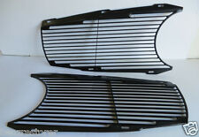 Pair Black Grille screen for mercedes 280sl w113 113 Pagoda