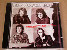 CD Didier Lockwood Group Phoenix 90 / JMS054-2