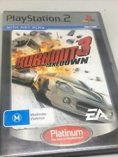 PS2 Burnout 3 Takedown Sony Playstation 2 Game PAL Complete with Manual VGC