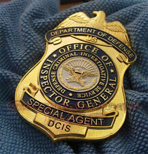 Department of Defense Collectibles Metal copper cosplay Badge US01