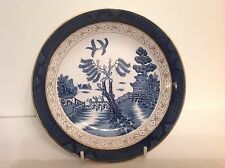 Nikko Double Phoenix Blue Willow Occupied Japan 1945-1952 Bread Plate 6 1/4""
