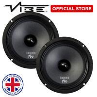 "EDGE Pro 6.5"" 300W Peak Car Audio 150W RMS Midrange Woofer Speakers - Pair"