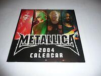 Metallica - 2004 Calendar SEALED