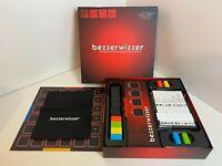 MATTEL BEZZERWIZZER QUIZ BOARD GAME TRIVIA TACTICS TRICKERY COMPLETE