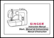 Singer Start 1304 Sewing Machine User Manual Instructions SPIRAL BOUND Reprint