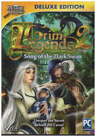 Windows PC Game DVD Grim Legends 2 Song of the Dark Swan Mystery Masters
