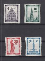 Q4011/ GERMANY FRENCH ZONE – BADEN – MI # 38A / 41A COMPLETE MINT MNH