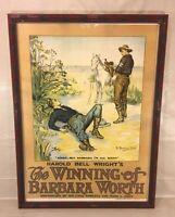 The Winning of Barbara Worth Silent Movie Film Poster Western