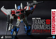 Hot Toys Optimus Prime Starscream Version Figure Transformers Sideshow SEALED !