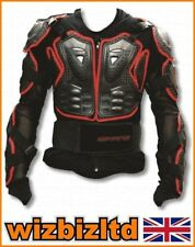CE Approved MotoCross Arm and Upper Body Protector (Large to XL) Adult PROMXJ14