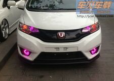 2015+ Honda FIT Daytime Running Lights DRL fog lights + CCFL Angel Eyes Kit