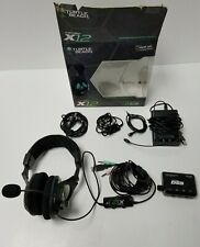 Turtle Beach Ear Force X12 for Gaming on Xbox 360/PC *RARE 1st Release*