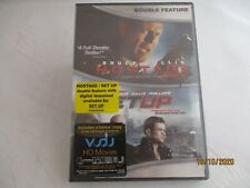 Bruce Willis Double Feature, '05-'11('13) Hostage / Set Up. Rated R. 50 Cent