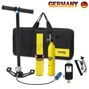 DIDEEP Tauchausrüstung Sauerstoffflaschen Lufttank Unterwasseratemgerät
