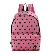 PAUL FRANK - JULIUS MONKEY STAR PATTERN SCHOOL BACKPACK - PINK