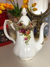 Cafetera Royal Albert Old Country Roses