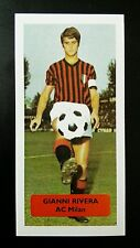 ITALY - AC MILAN - GIANNI RIVERA  - Score UK football trade card