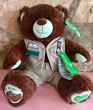 BUILD A BEAR THIN MINT COOKIE GIRL SCOUT BEAR PLUSH TROOP OUTFIT NEW