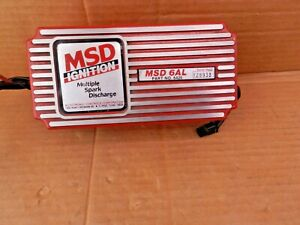 MSD IGNITION Box 6AL 6420 Multiple Spark Discharge Chevy Ford Mopar NEW