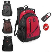 Swissgear 15.6'' Laptop Backpack Men Women Unisex Outdoor Travel Hiking Bag