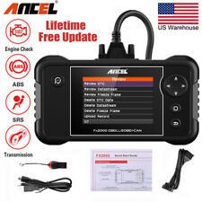 Ancel FX2000 Scanner Auto Car ABS SRS Airbag Transmission Engine Diagnostic Tool