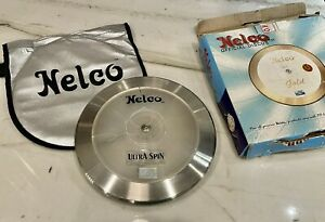 Vintage Nelco Ultra Spin Official Discus Track and Field w/ bag *see photos*