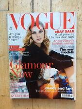 Vogue UK November 2004 Angela Lindvall Patrick Demarchelier Faithfull Blunt Ebay