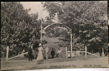 GUELPH, ONTARIO, CANADA, Post Card 1905-15, RIVERSIDE PARK ENTRANCE