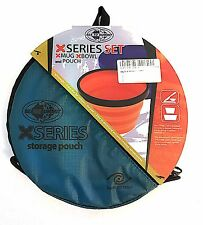 NEW Sea to Summit X Series Mug & Bowl 2 piece set with pouch - X Series Set