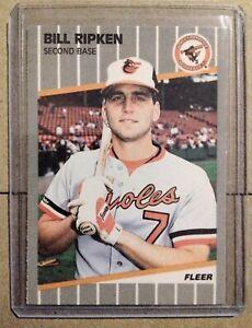 Bill Ripken 1989 Fleer FF Error Card Gem Mint #616