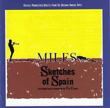 MILES DAVIS SKETCHES OF SPAIN REMASTERED CD NEW