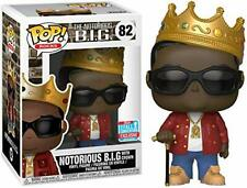 Funko Pop! The Notorious B.I.G. #82 With Crown Toy Tokyo Nycc 2018 W/ Protector
