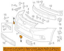 Scion TOYOTA OEM 11-13 tC Bumper-Foglight or Tow Hook Cover Cap Left 5212821901