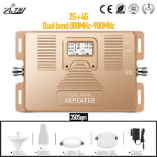70dB High Gain Repeater 800/900MHz Mobile Signal Booster 2G 4G Signal Repeater