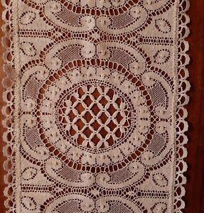 Lovely Lace Table Runner,  75 x 20 cm