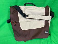"""Lowepro Shoulder Bag Messenger Laptop Padded 13""""-14"""" Brown Cream Orange"""
