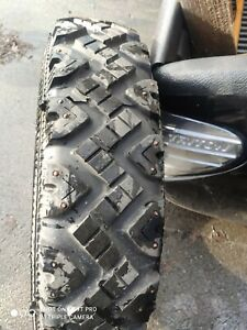GOOD YEAR 7.50 R 16C Used Tyre defender winter whit metal for snow X1