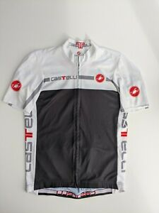 CASTELLI MENS CYCLING FULL ZIP JERSEY LARGE GOOD CONDITION
